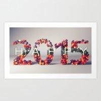 Happy 2015! Art Print