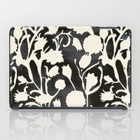 Black And White Floral 0… iPad Case