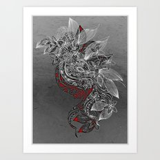Earth Dance Art Print