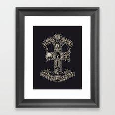 APPETITE FOR DARKNESS Framed Art Print