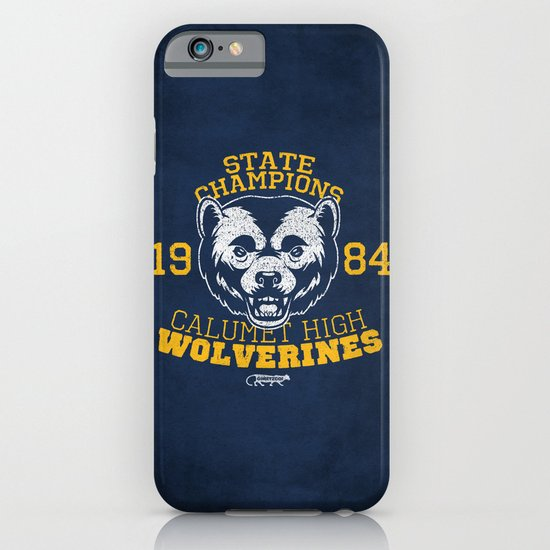 WOLVERINES! (BLUE VARIANT) iPhone & iPod Case