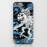 iPhone & iPod Case featuring Interdimensional Icthy-demon by Brian Walline