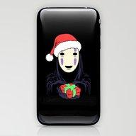 Kaonashi's Trap! iPhone & iPod Skin