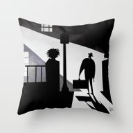 Friedkin's The Exorcist Throw Pillow