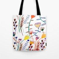 Flowers - Floral - Flowe… Tote Bag