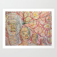 Brother's Good Vibrations Art Print