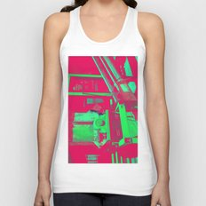 Factory Red Unisex Tank Top