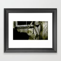 Grunge Series 1 Framed Art Print