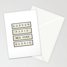 London   Paris   New York   Madrid Stationery Cards
