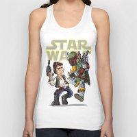 Star Wars - Han Solo x Bobba Fett Unisex Tank Top