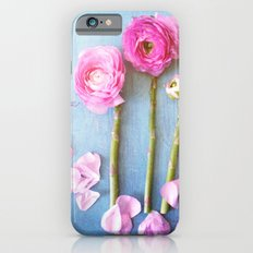 Wild Flowers and Spring Asparagus iPhone 6s Slim Case