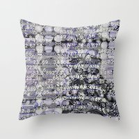 Post-Digital Tendencies … Throw Pillow