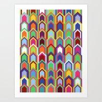 Upward Series: Soirée Art Print