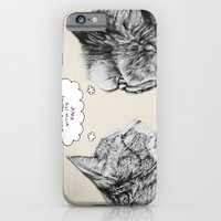 iPhone & iPod Case featuring Cat Confusion by Julia Emiliani