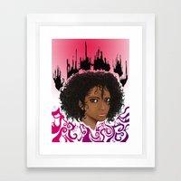 Furia. Framed Art Print