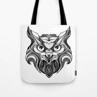 Owl - Drawing Tote Bag