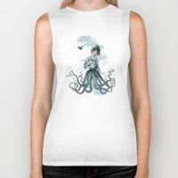 Octopus Fairy Biker Tank