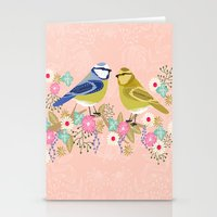 Love Birds Valentines Da… Stationery Cards