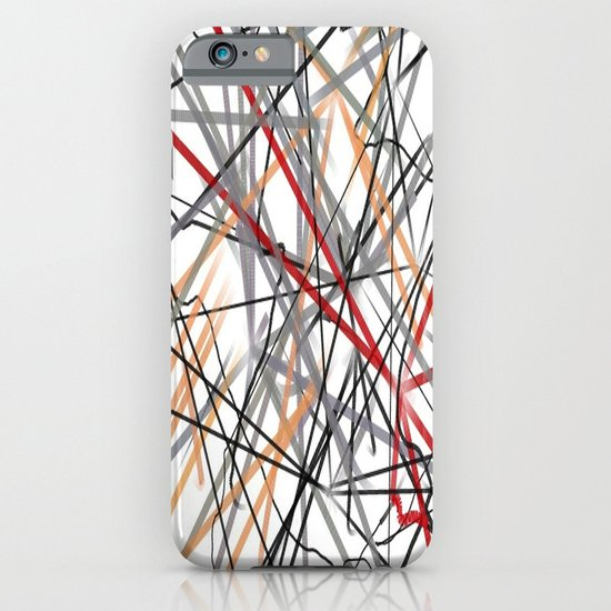 Unraveled Burberry Scarf iPhone & iPod Case