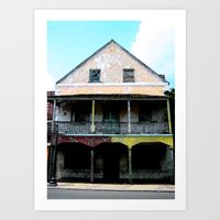 Abandon Building Art Print