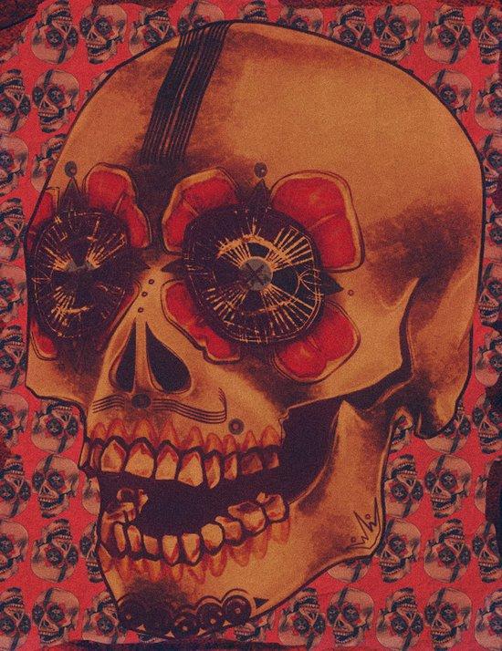 Skulled Art Print