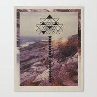 Canvas Print featuring Stretched to the Point of No Turning Back by Psychonautical