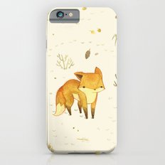 Lonely Winter Fox iPhone 6s Slim Case