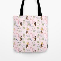 Easter Bunny Factory Tote Bag