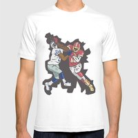 RG3 Mens Fitted Tee White SMALL