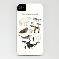 Arctic & Antarctic Anima… iPhone (4, 4s) Slim Case