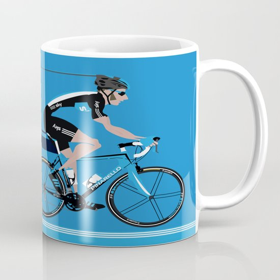 Bradley Wiggins Team Sky Mug