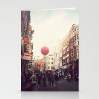 Chinatown , London. Stationery Cards