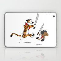 Bonifacio And Hobbes Laptop & iPad Skin