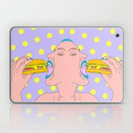 Dont Tempt Yourself Laptop & iPad Skin