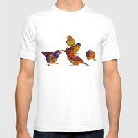Sparrows Mens Fitted Tee White SMALL