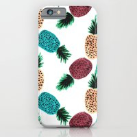 iPhone & iPod Case featuring Weird Pineapples by Bouffants and Broken Hearts