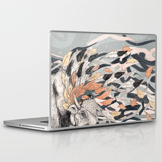 Magic Breeze Laptop & iPad Skin