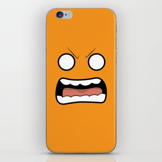 Scary Face iPhone & iPod Skin