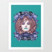 Legend Of The Sea Wolf (… Art Print