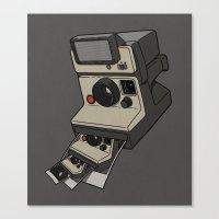 Cam-ception (continuous … Canvas Print