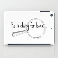 He's Cluing For Looks...… iPad Case