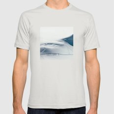 Mountain trace  Mens Fitted Tee Silver SMALL
