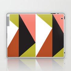 Pink, lime black triangle pattern (2015) Laptop & iPad Skin
