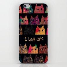 cat-43 iPhone & iPod Skin