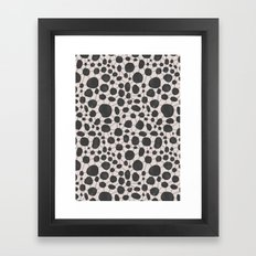Stones and Lines II Framed Art Print