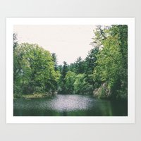 maudslay pond Art Print