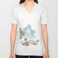 The ghost of the lake Unisex V-Neck