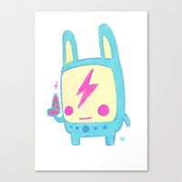 Baby Lemi The Space Wand… Canvas Print