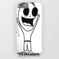 iPhone & iPod Case featuring Let's Get Naked. by John Budreski