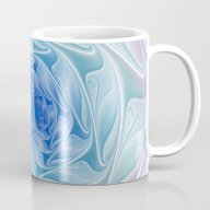 The Blue Depth, Abstract… Mug